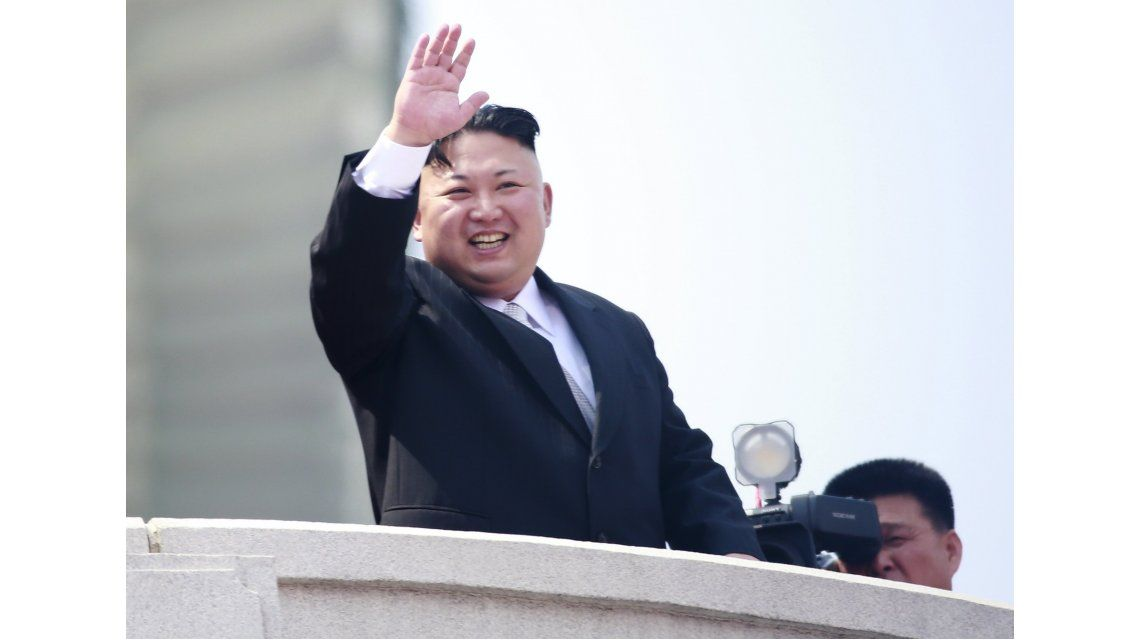 Kim Jong-Un en el Día del Sol de Corea del Norte