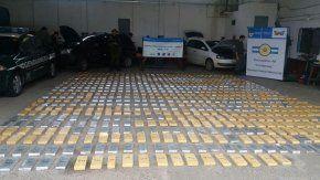 Incautaron 691 kilos de marihuana que venía de Itatí