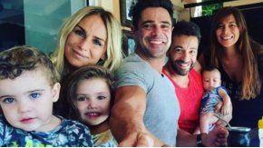 Luciano Castro con Ximena Capristo y Gustavo Conti