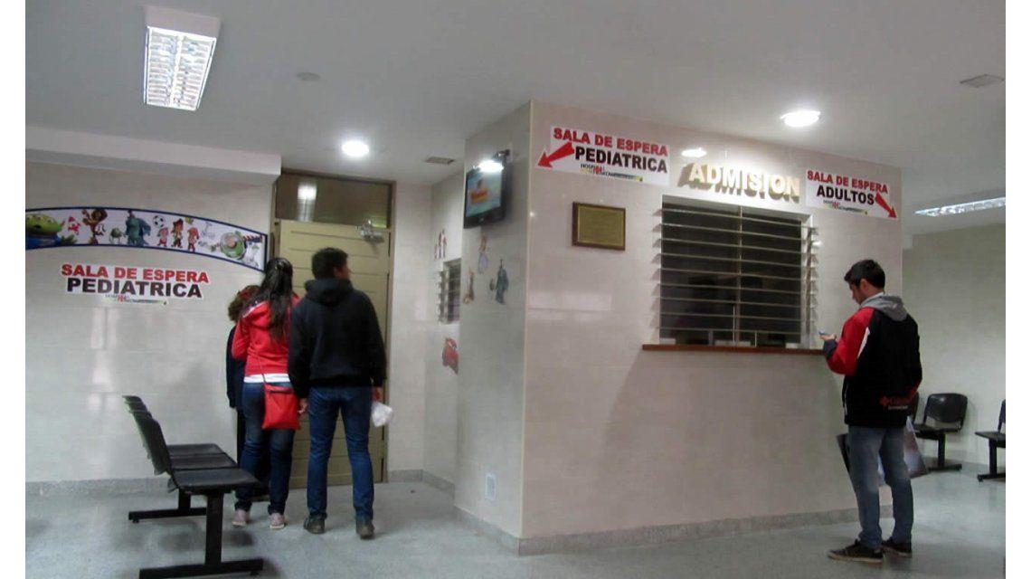 Sala de espera pediátrica del Hospital Schestakow de Mendoza