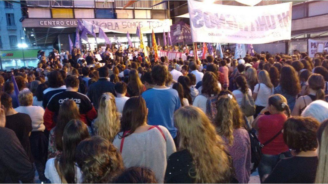 Gualeguay se movilizó para pedir justicia por el crimen de Micaela