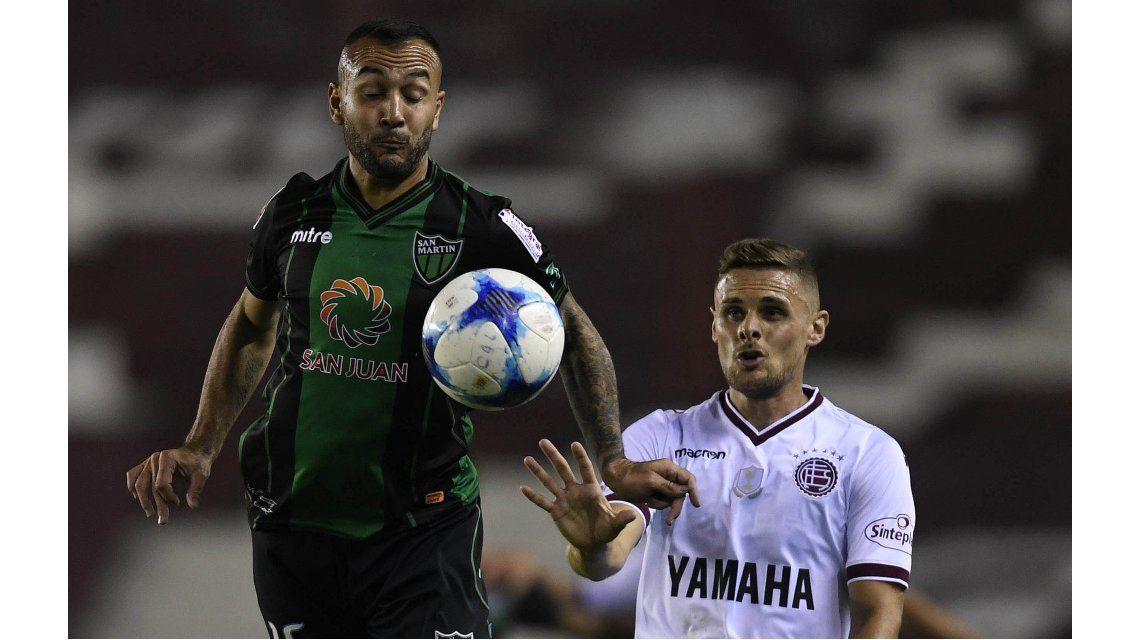 Lanús empató sin goles ante San Martín de San Juan