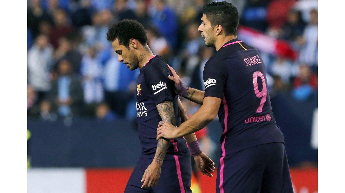 El brasileño vio la roja en la derrota ante el Málaga