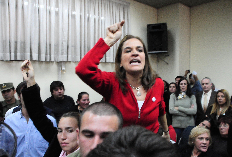 Cecilia Pando fue contratada para ser maestra de un colegio de Palermo