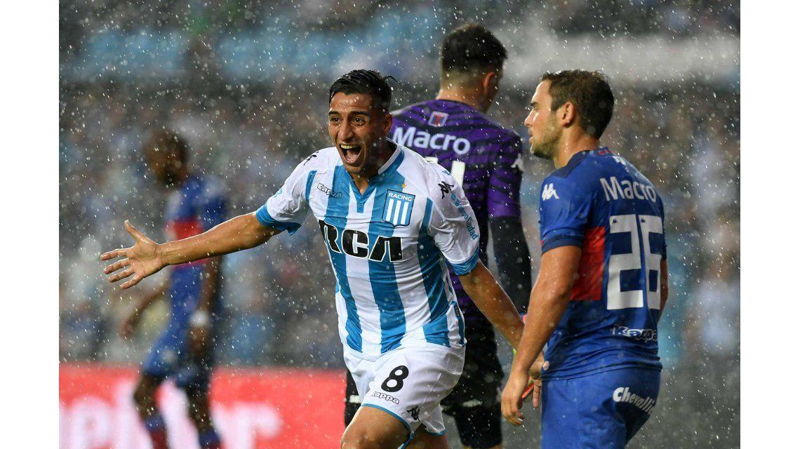 El grito de gol de Diego González ante Tigre