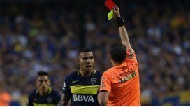 Delfino será árbitro ante Boca tras expulsar a Tevez