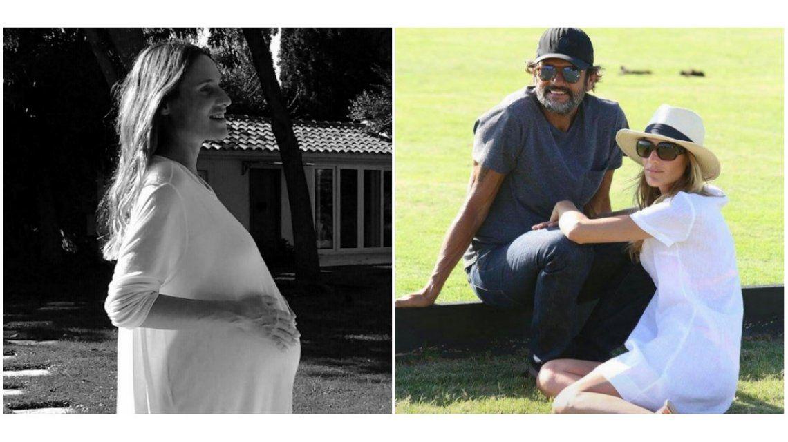 Lara Bernasconi fue madre por primera vez.