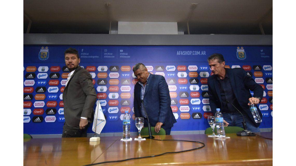 Bauza le dijo adiós a la Selección con una conferencia