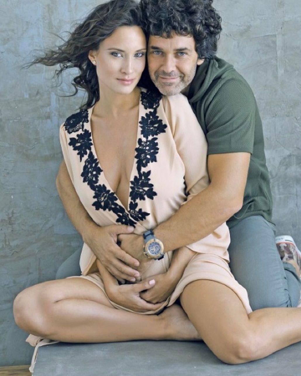 Camila Cavallo y Mariano Martínez esperan a Alma