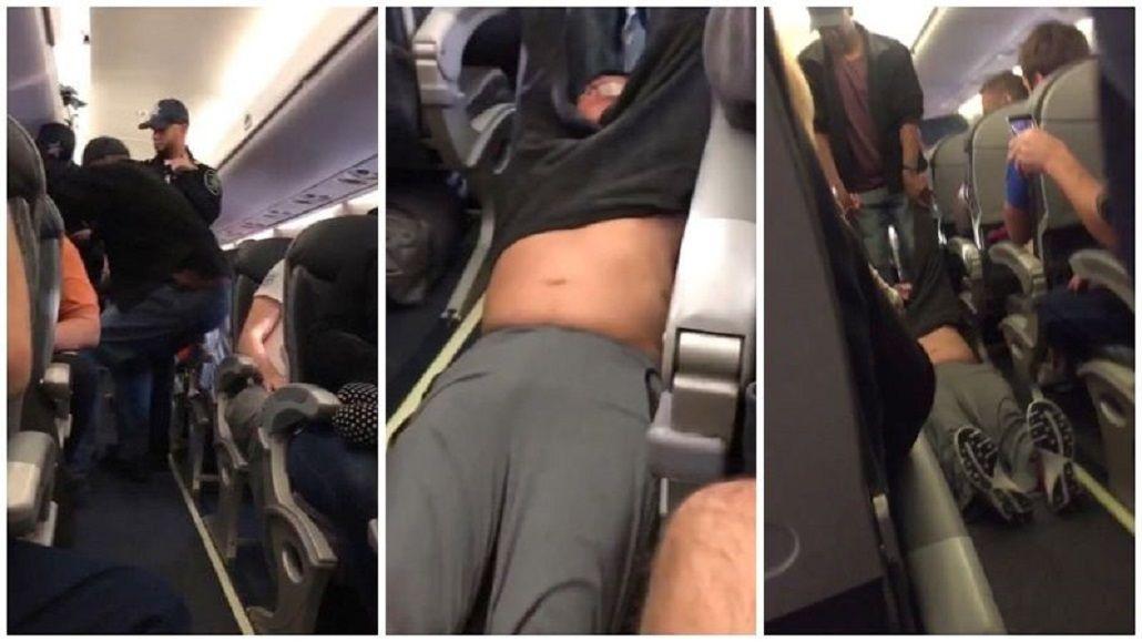 Un pasajero fue sacado de un avión por sobreventa de pasajes