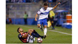 Buonanotte marcó el gol de Universidad Católica
