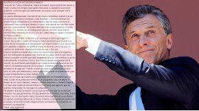 Dura carta de un militante del PRO a Macri: Mauricio, me decepcionaste