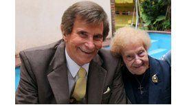 Murió la mamá de Silvio Soldán.