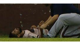 Hubo tensión durante varios minutos en Vicente López