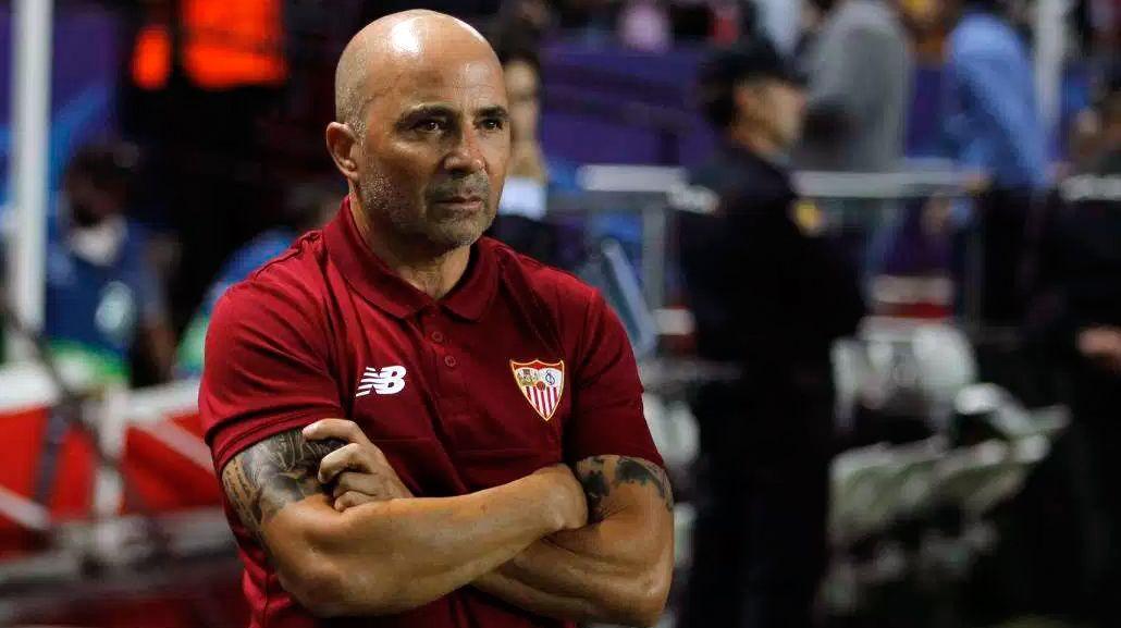 Sampaoli evitó confirmar su renovación con el Sevilla