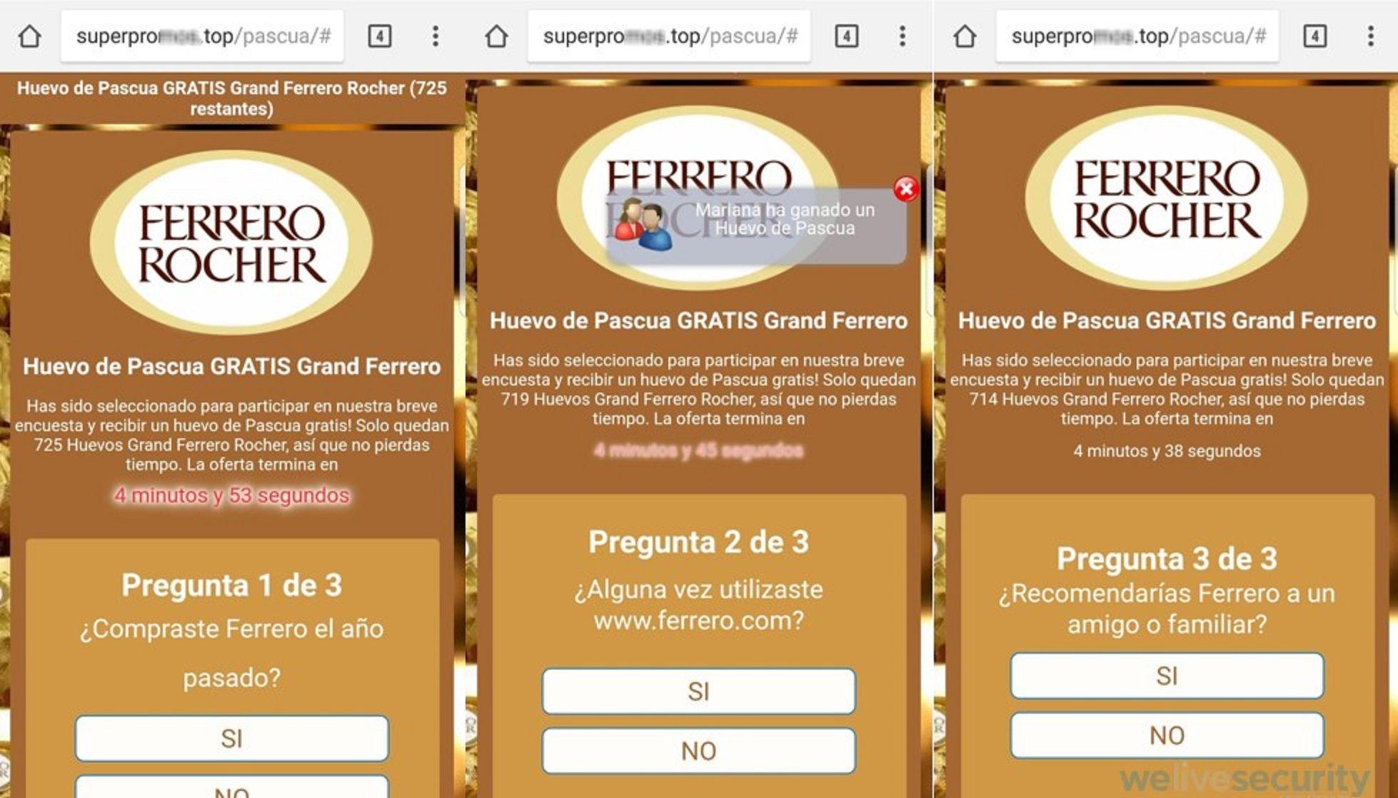 Alertan sobre mensajes de WhatsApp que prometen huevos de Pascua gratis