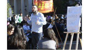 Clases públicas en Plaza de Mayo