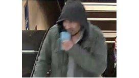 Las autoridades difundieron la foto del sospechoso