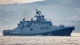 Rusia trasladó una fragata con misiles hacia la costa de Siria