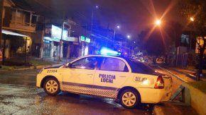 El efectivo policial murió en el acto