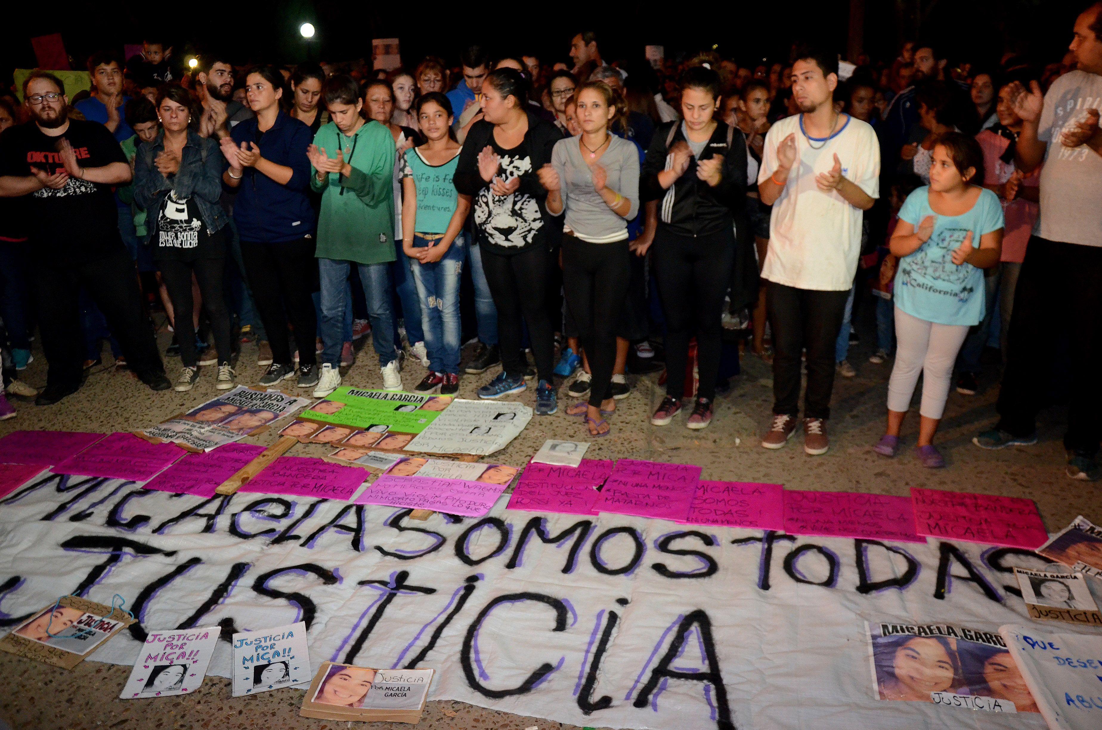 Según las primeras pericias, Micaela García fue estrangulada