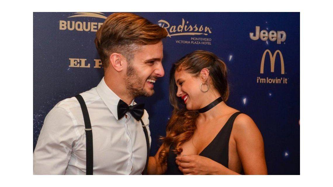 Quién es el futbolista con el que Barbie Vélez se mostró en Uruguay.