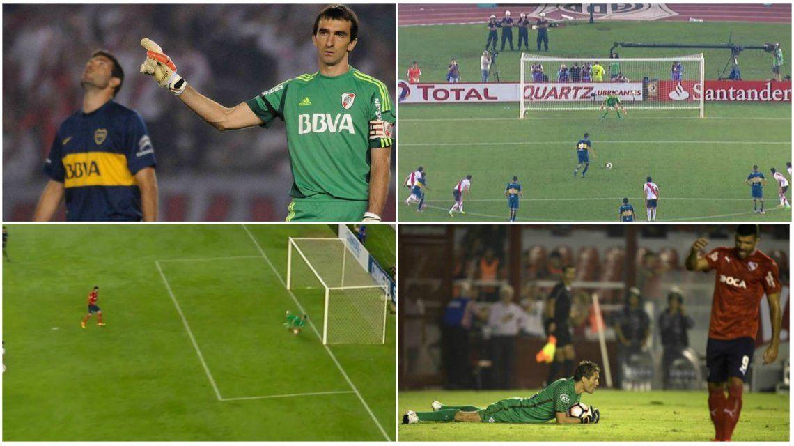 Emmanuel Gigliotti y los penales en la Sudamericana