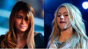 Antonella Roccuzzo y Shakira se pelearon por un chorizo