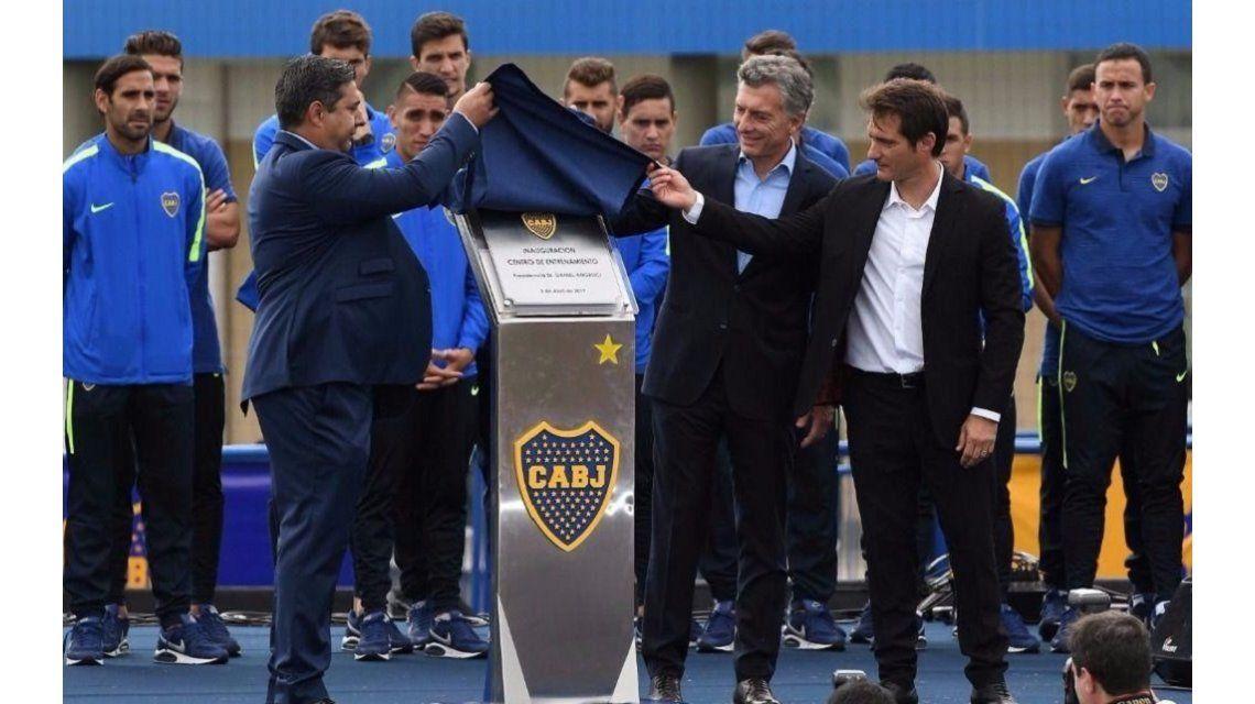 El lamento de Mauricio Macri: Ponzio era un jugador para Boca