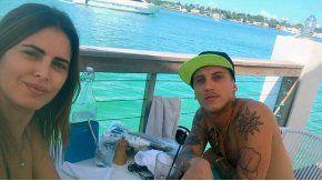 Silvina Luna y El Polaco, en Miami
