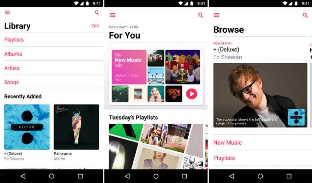 Apple Music recibe importante actualización para Andriod