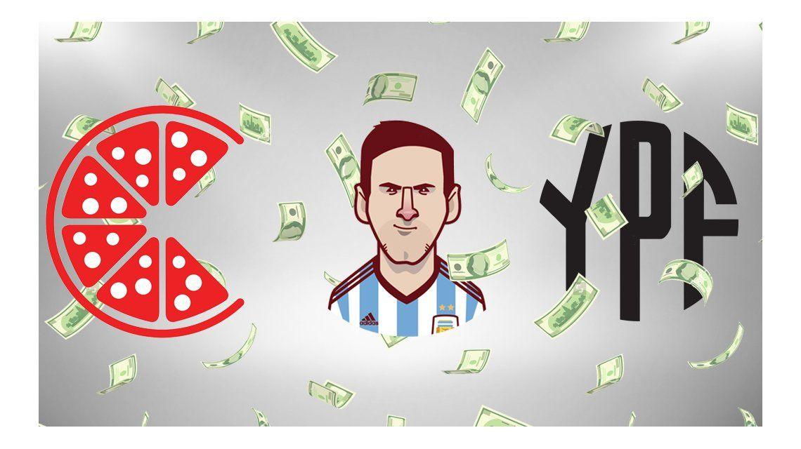 Millones de pizzas, 467 Messi y 11 YPF: ¿A qué equivale el blanqueo?