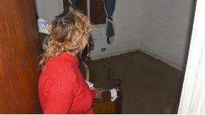 Sonia Cadin Paredes en su vivienda