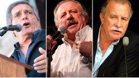 Carlos Acuña, Hugo Yasky y Omar Plaini