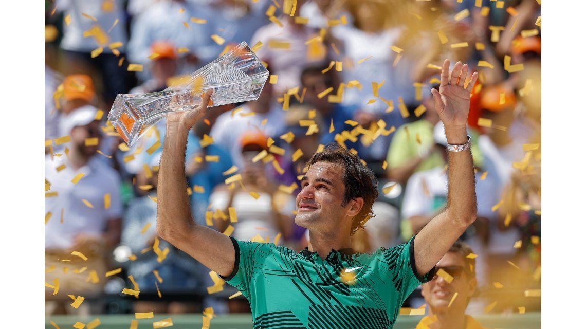 El suizo acumula tres títulos en 2017 y va por más