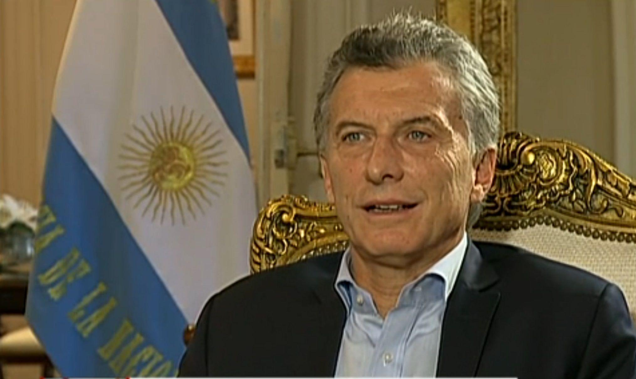 Macri descartó que los paros afecten la llegada de inversiones
