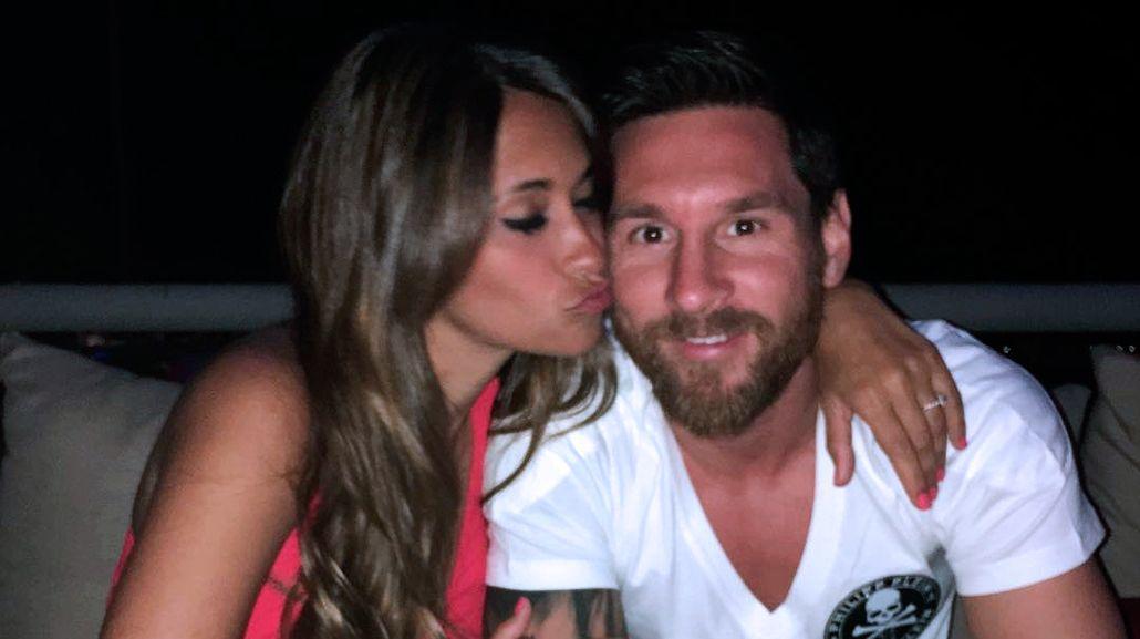 Antonella Roccuzzo y Lionel Messi preparan su boda