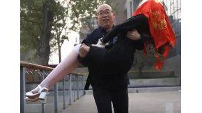 Un ingeniero chino se casó con una mujer-robot construida por él mismo