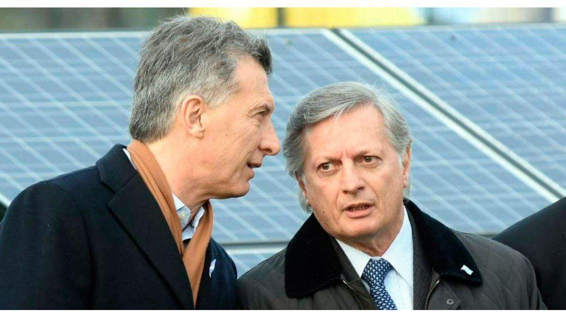 Imputaron a Macri y a Aranguren por el tarifazo del gas