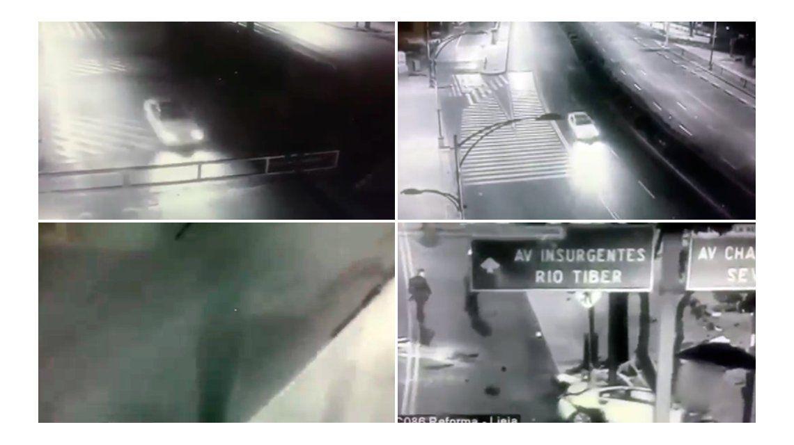 La misteriosa sombra que apareció antes de un accidente en México