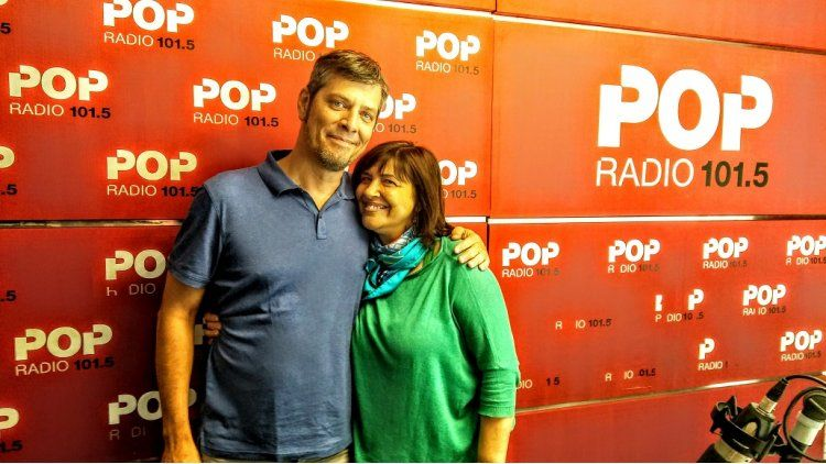 Mario Pergolini y la Negra Vernaci se reencontraron en POP 101.5
