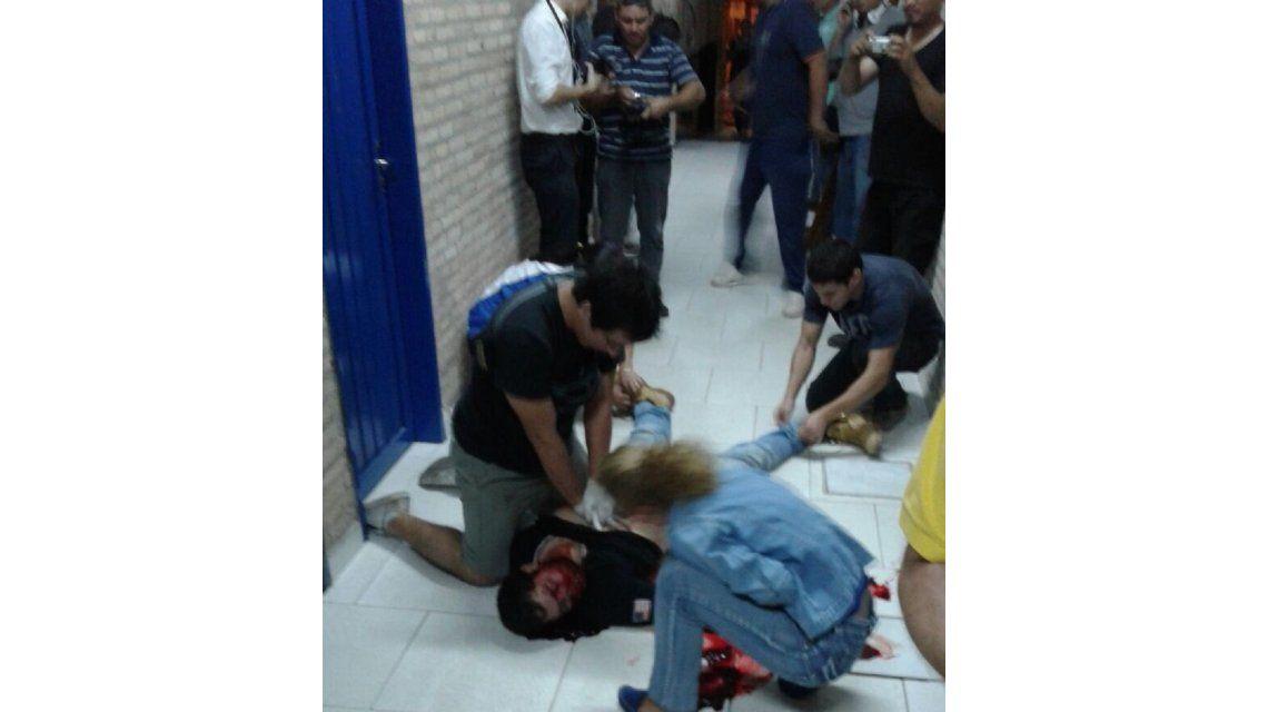 Un herido de gravedad por la represión policial en el PLRA