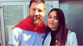 Messi y Lali