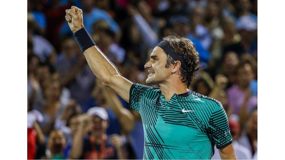 Roger Federer le ganó a Kyrgios