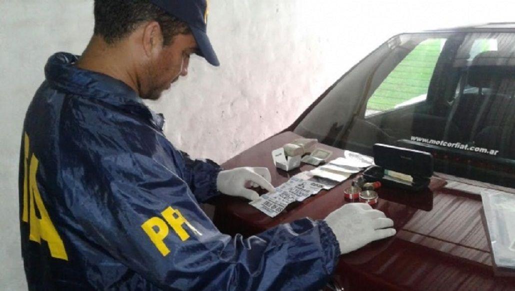 Secuestraron 276 pastillas de éxtasis - Crédito:elintransigente.com