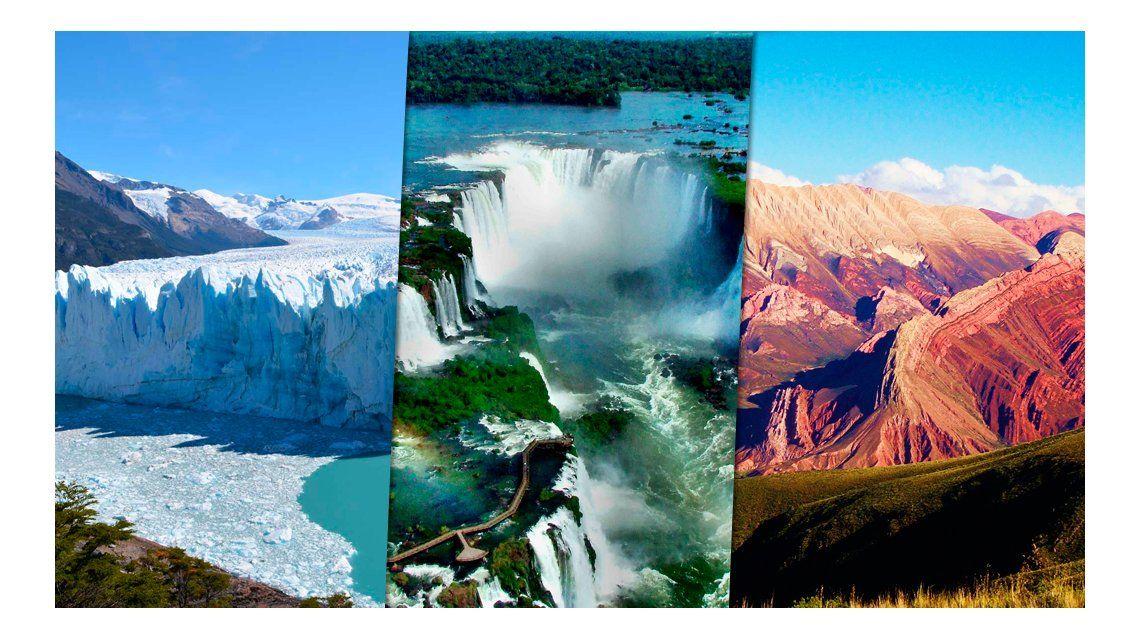 Los 20 mejores destinos turísticos de la Argentina