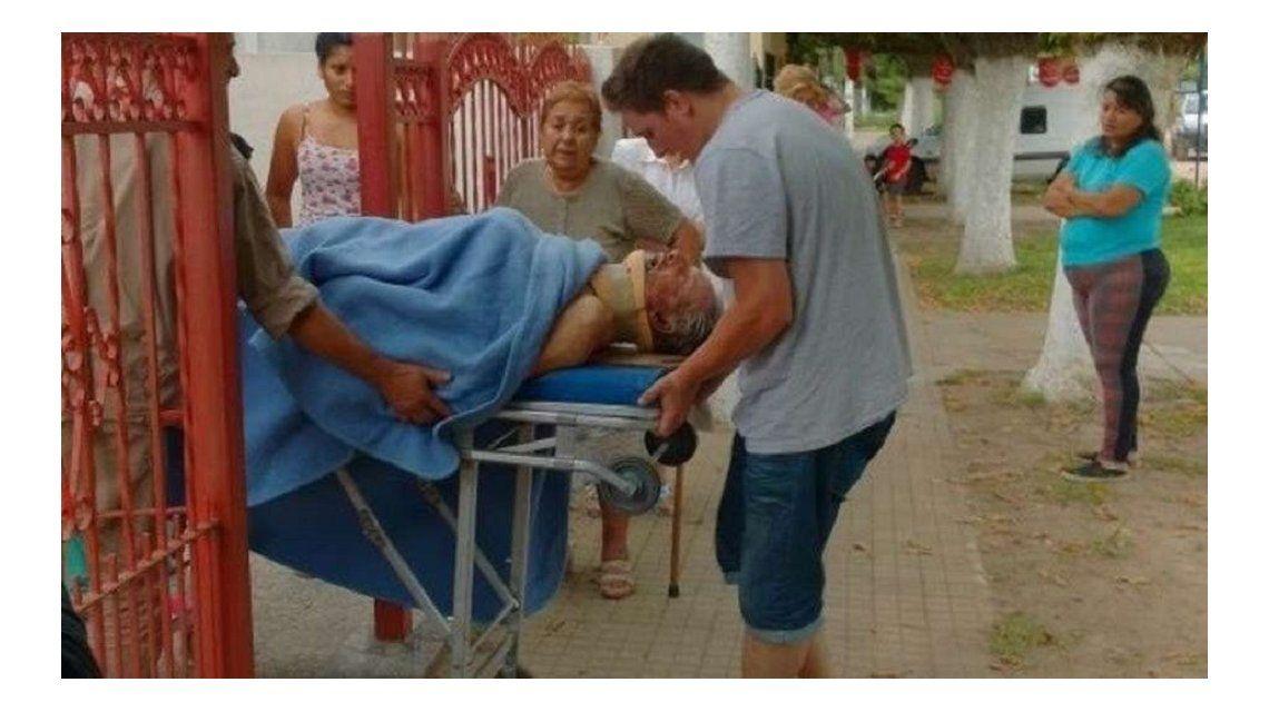 El abuelo de Marco Ruben fue brutalmente golpeado en un robo | Santa ...