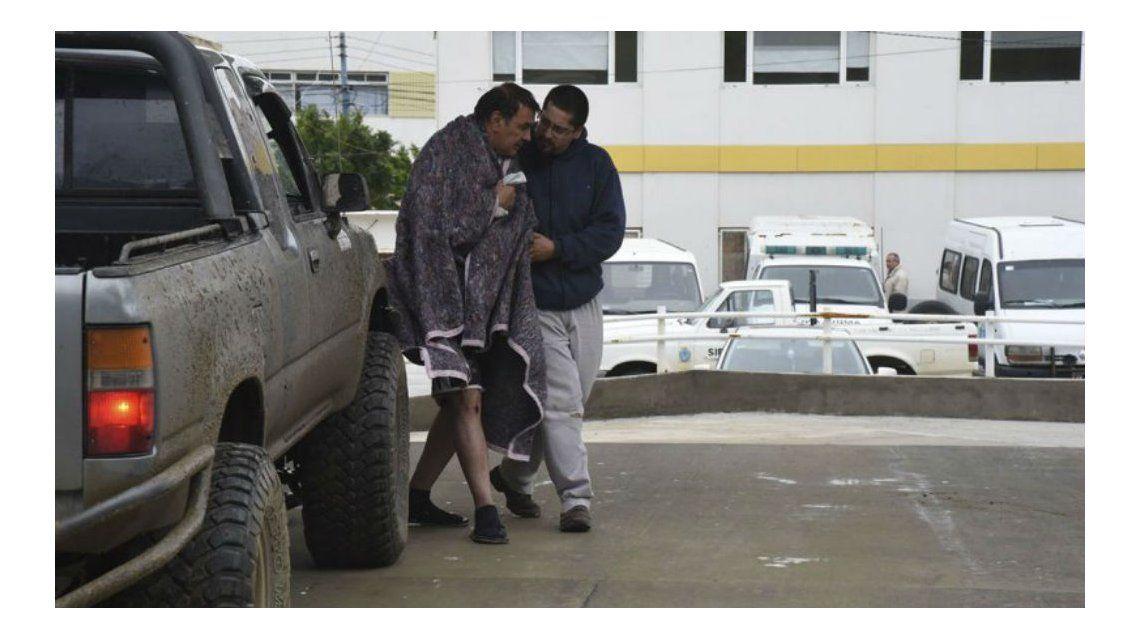 Pedro Fernandez en el hospital