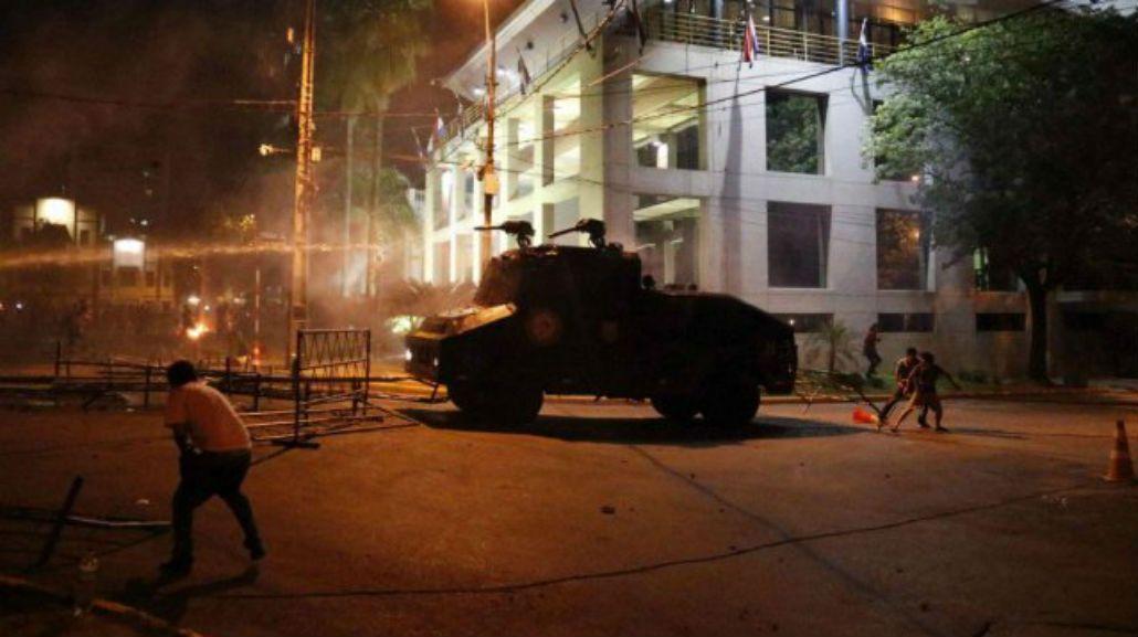 La policía detuvo un total de 211 personas por los incidentes
