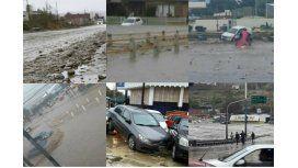 El temporal arrasó Comodoro